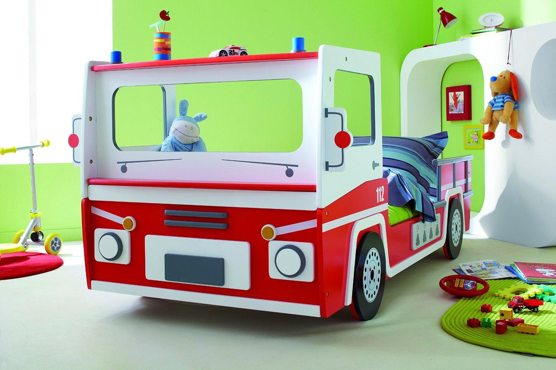 Feuerwehrauto Bett