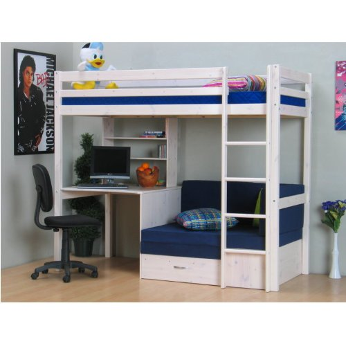 moderne hochbetten optimal f r kleine kinderzimmer. Black Bedroom Furniture Sets. Home Design Ideas