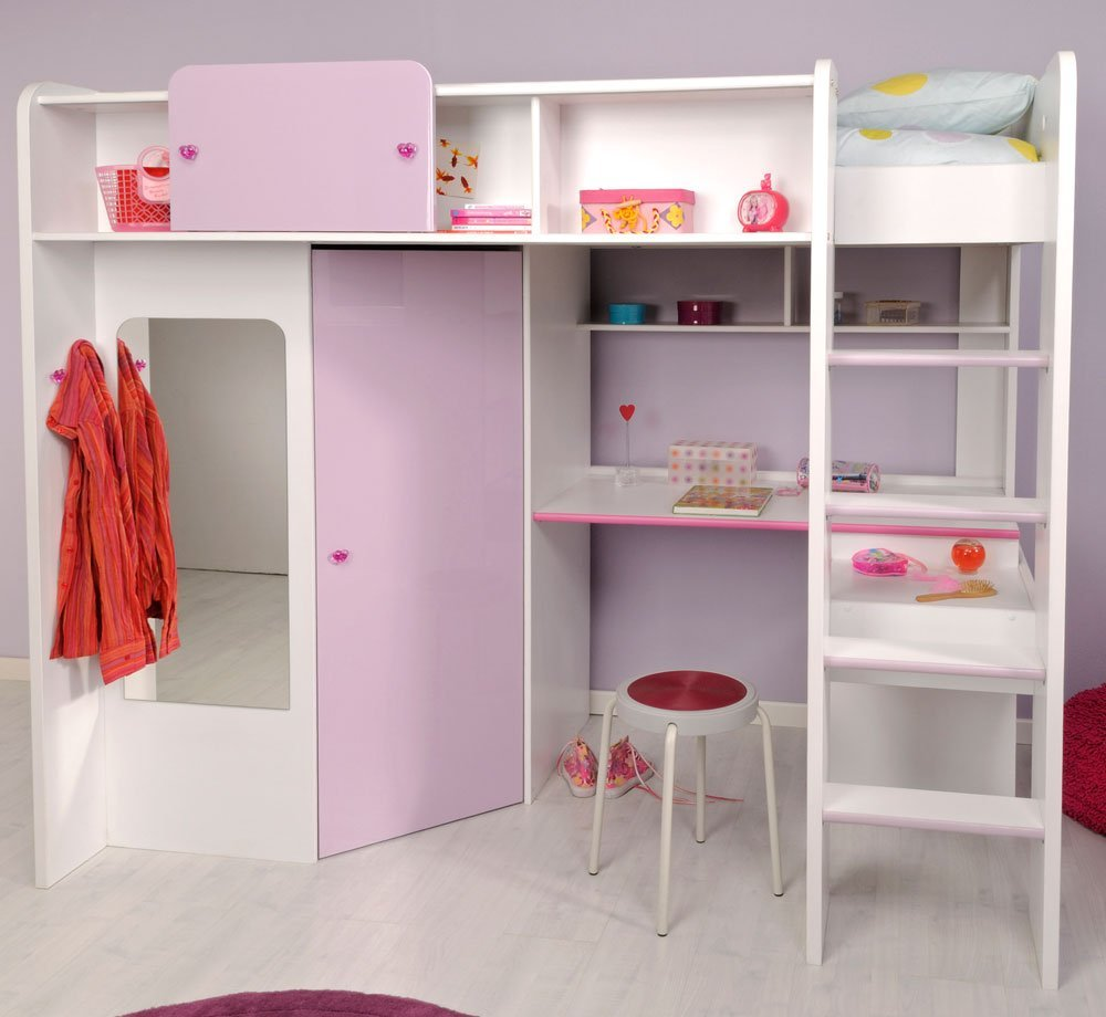 Moderne Hochbetten Optimal Fur Kleine Kinderzimmer