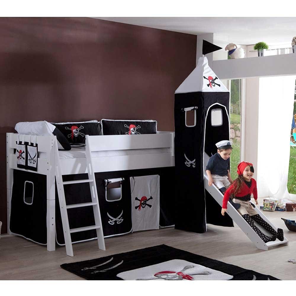 Ein Bett Mit Rutsche Sorgt Fur Mehr Spass Im Kinderzimmer