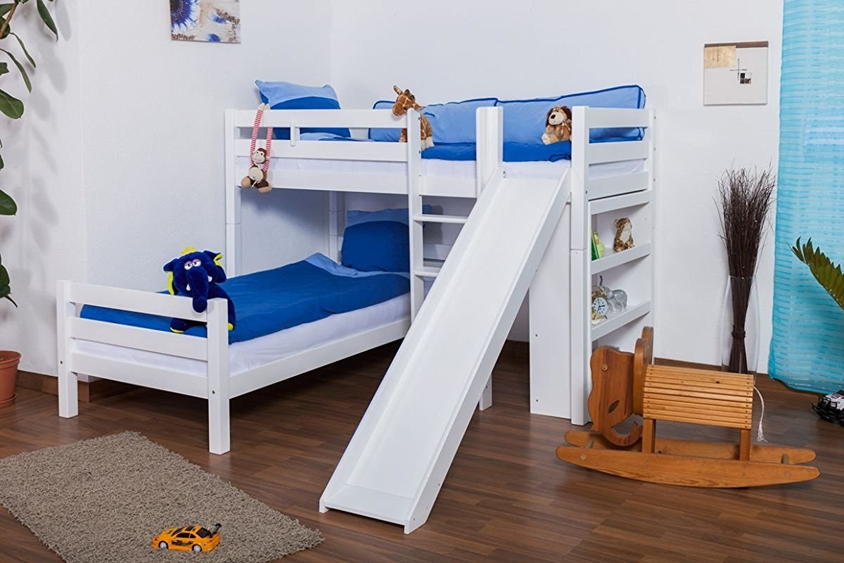 Etagenbett Mit Rutsche : Moderne etagenbetten für mehr platz im kinderzimmer!